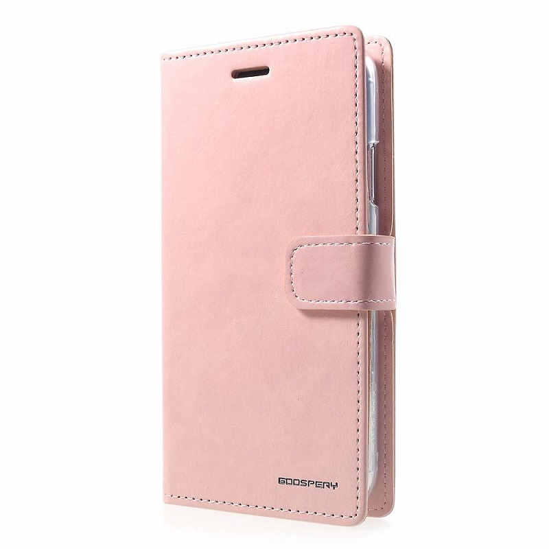 Samsung Galaxy A50 Bluemoon Wallet Case Baby Pink