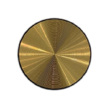 Metalic Gold Pop Socket