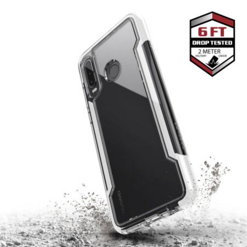 Huawei P30 Lite Case X-Doria Defense Clear Series- White
