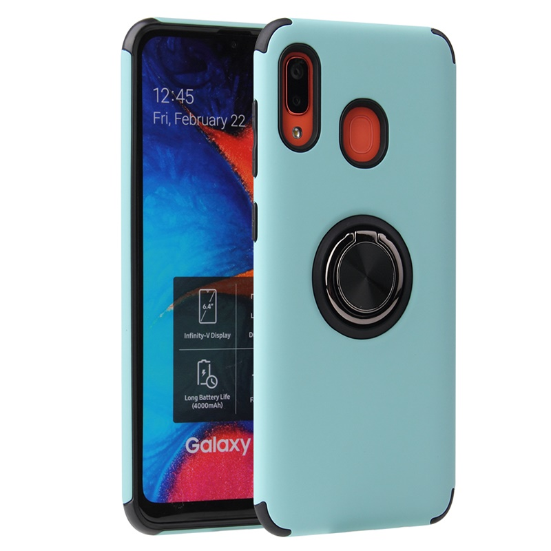 Huawei P30 Lite Case Magnetic Ring Holder Cover Mint