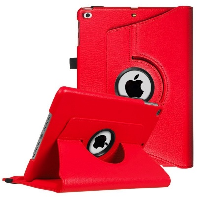 iPad Air 360 Rotating Case Red