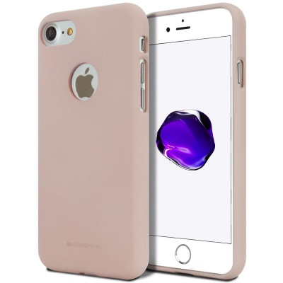 iPhone 8/7 Goospery Soft Feeling Case PinkSand