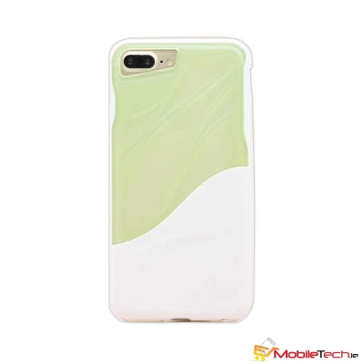 iPhone 6s/6 Water Ripple Clear Cover Green