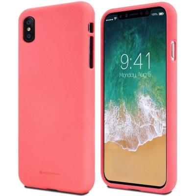 iPhone X Case Goospery Soft Feeling Case Flamingo