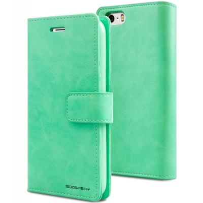 iPhone SE/5S/5 Bluemoon Wallet Case Mint