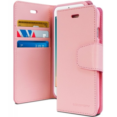 iPhone 7 / Phone 8 Case Sonata Wallet Case- Pink
