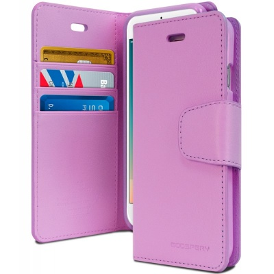iPhone 7/8 Plus Sonata Wallet Case  Purple