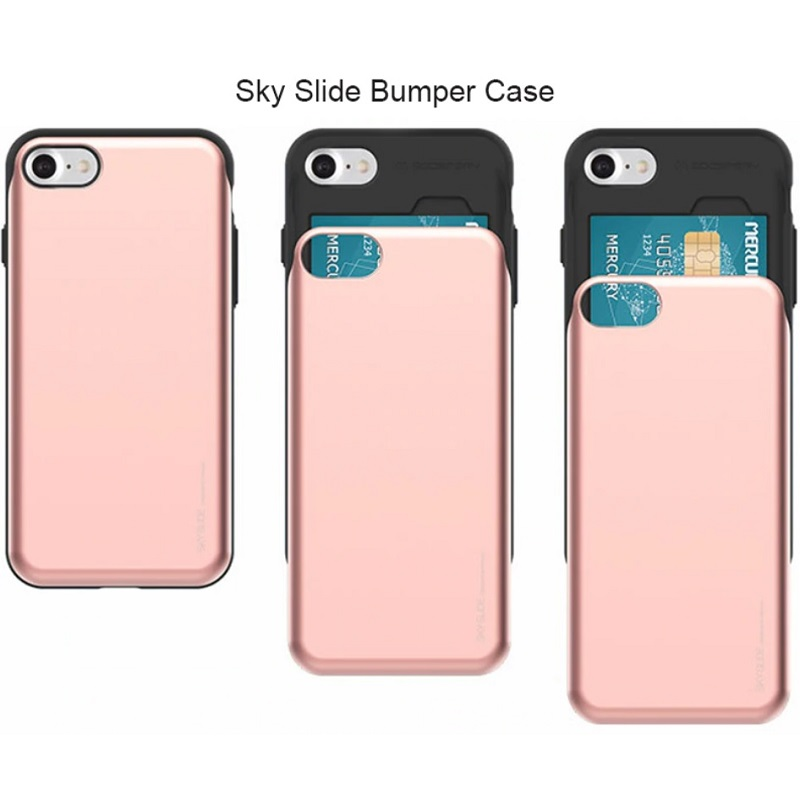 iPhone 7 / iPhone 8 Case Sky Slide Bumper- RoseGold