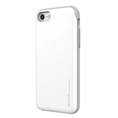 iPhone 7 / iPhone 8 Case Sky Slide Bumper- White