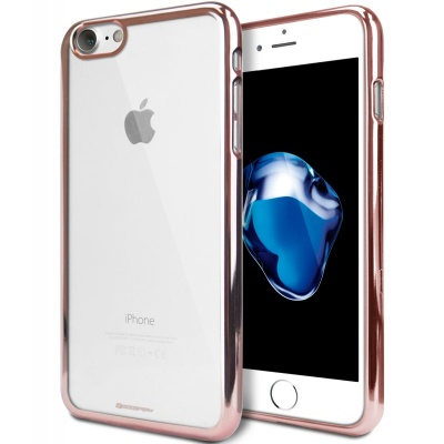iPhone 7 / iPhone 8 Case Ring2 Jelly RoseGold