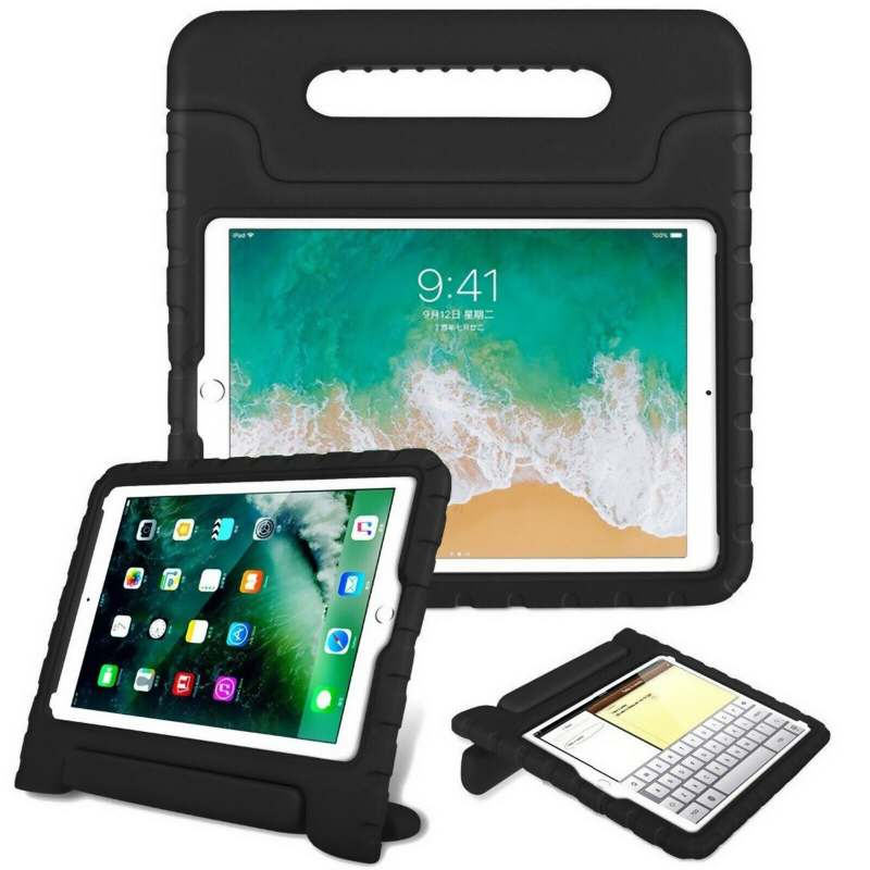 iPad Mini 1/2/3/4/5 Case for Kids Shockproof Cover with Handle |Black