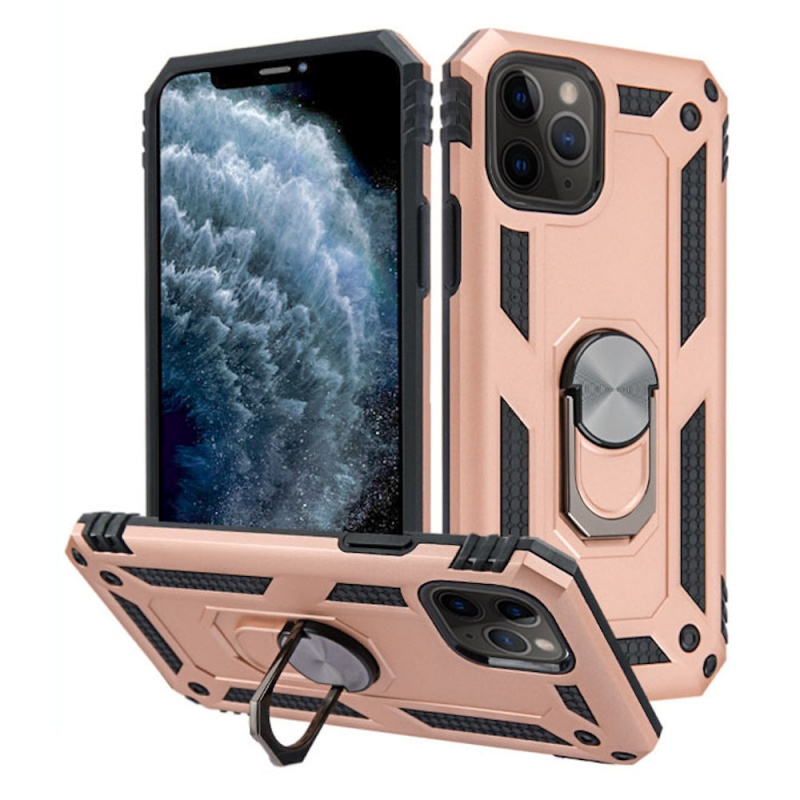 Iphone 11 Pro Finger Loop Armor Hybrid Case | Rosegold
