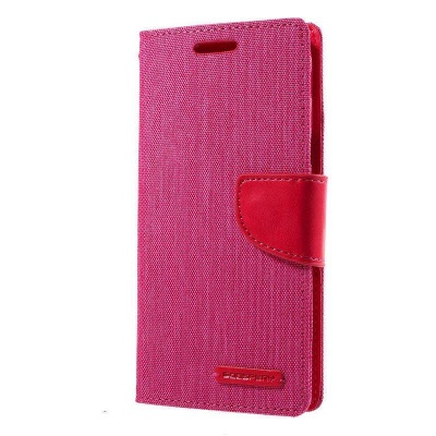 Samsung Galaxy J5(2017)  Canvas Wallet Case  Pink