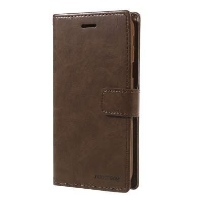 Samsung Galaxy J3(2017) Bluemoon Wallet Case Brown