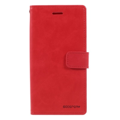 Samsung Galaxy J3(2017) Bluemoon Wallet Case Red