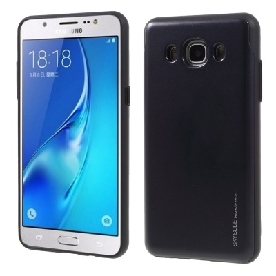 Samsung Galaxy J5(2016) Sky Slide Bumper Case Black