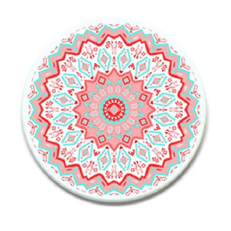Mobiletech-Aztec-Mandala-Red-pop-socket
