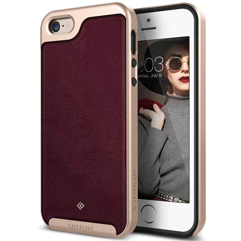 mobiletech-iPhone-se-caseology-Envoy-burgundy