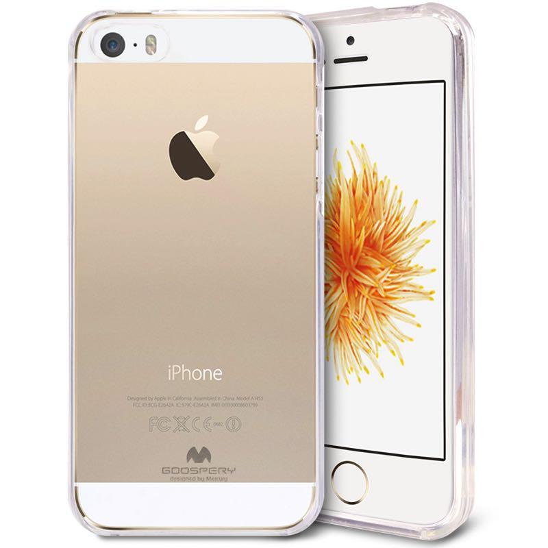 release date: b0352 4b75e iPhone SE/5S/5 Jelly Case Clear