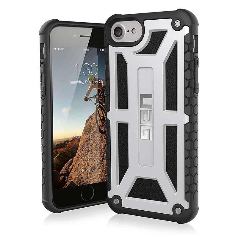 innovative design 7a131 e48a0 iPhone 6s/6 UAG Monarch Series Case Platinum