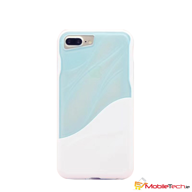 reputable site cc22c c8e8b iPhone 6s/6 Water Ripple Clear Cover Blue