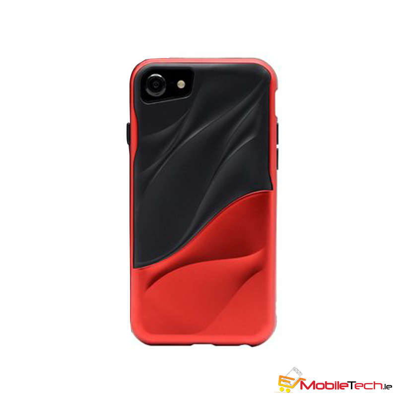 mobiletech-iPhone7-8-Water-Ripple-Cover-Case-BlackRed