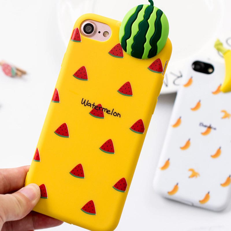 obiletech-3D-Fruit-Summer-Watermelon-Soft-TPU-Silicon-Back-Phone-Case-For-iPhone-8-7-Case