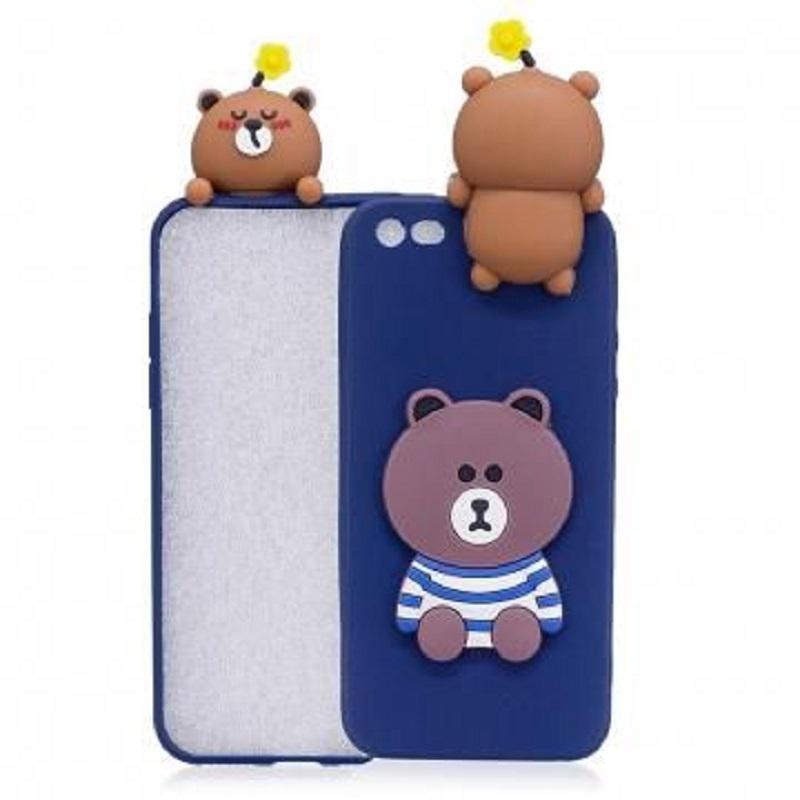 pretty nice 70f25 64267 iPhone 6/6s 3D Teddy Bear Soft TPU Silicon Back Phone Case