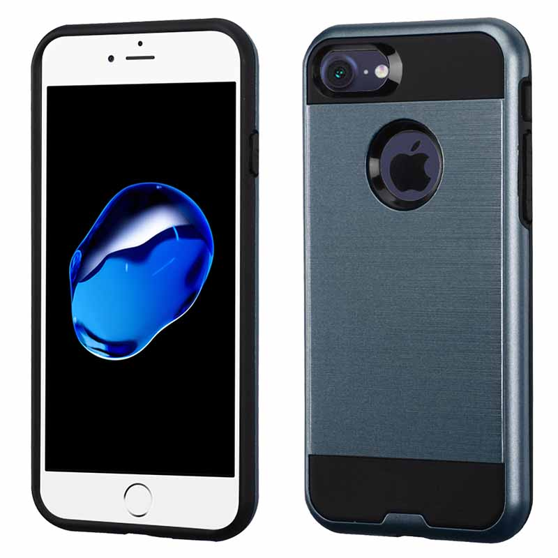 mobiletech-iphone6-mybat-ASMYNA-BLue-Brushed-Hybrid-Protector-Cove