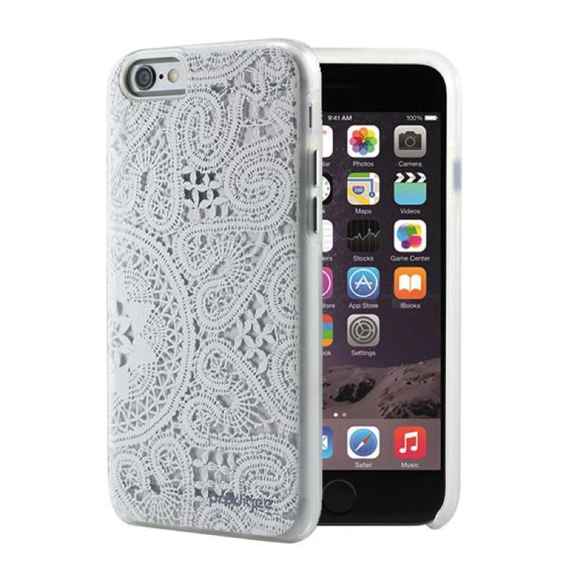 iphone 6 6s prodigee show series case lace white