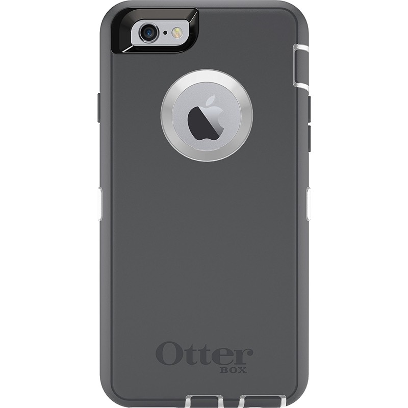 separation shoes 6e5f7 1a9a4 iPhone 6/6s Plus OtterBox Defender Series Case Grey