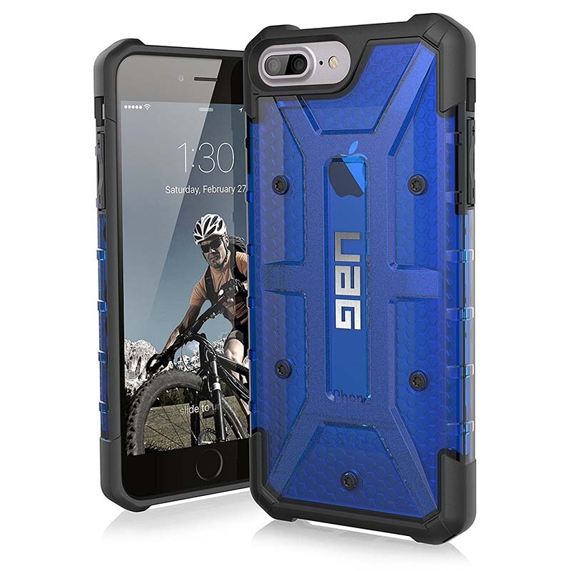 mobiletch-UAG-iPhone-8-7-6-6s-Plus-5-5-inch-screen-Plasma-Feather-Light-Rugged-cobalt