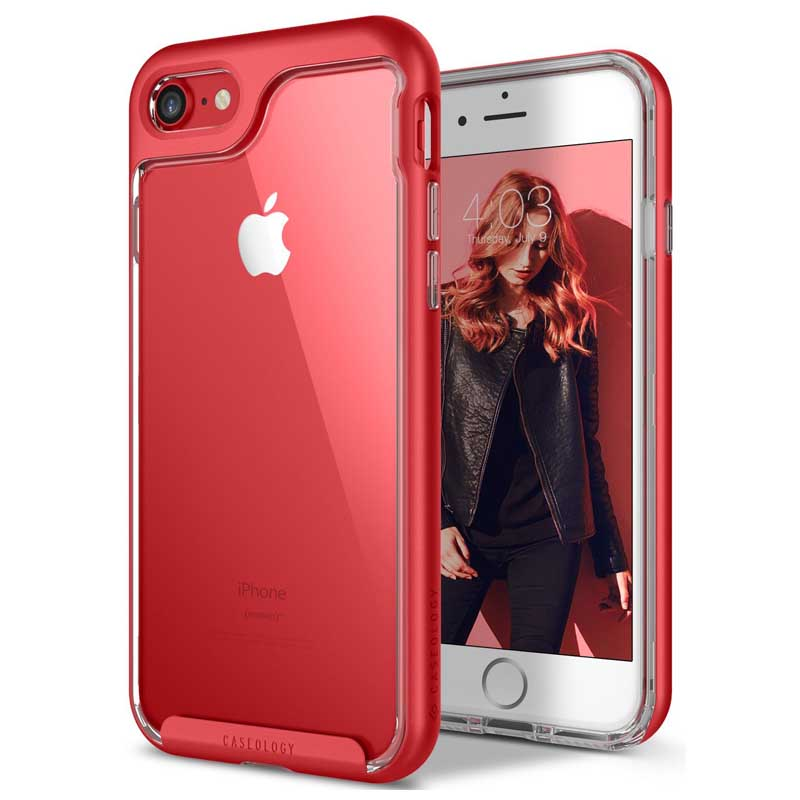 differently 8af5f 9c6b7 iPhone 7 / iPhone 8 Case Caseology Skyfall Series- Red