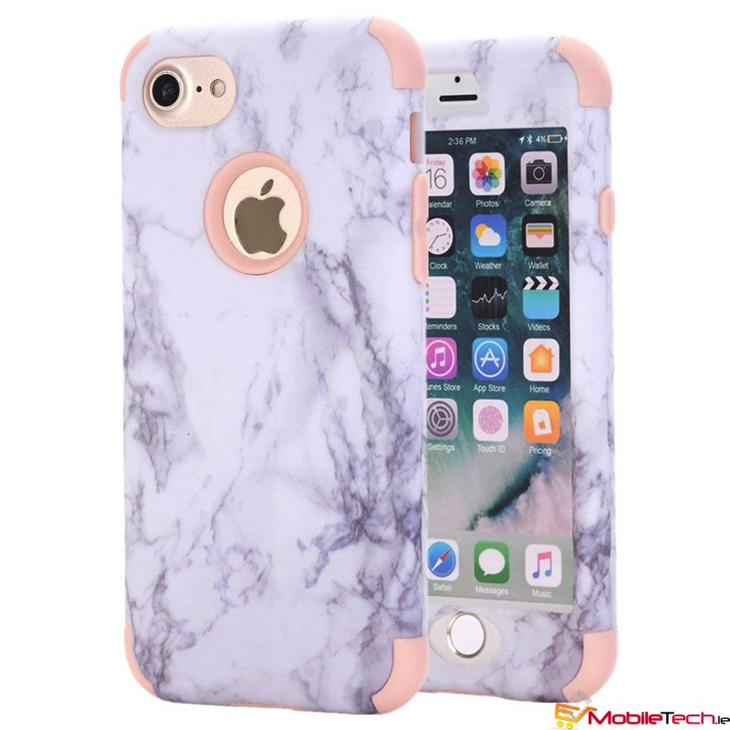 new style bad9d 390fb iPhone 7 / iPhone 8 Case Marble Cover RoseGold