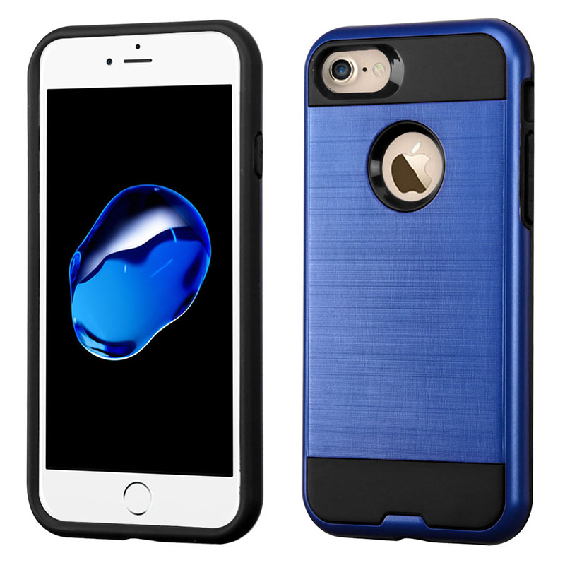 mybat-iphone7-AIPHONE7HPCSAAS356NP-Dark-Blue-Black-Brushed-Hybrid-Protector-Cover
