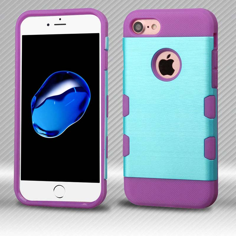 mybat-iphone7-IPHONE7HPCTUFFTROSO627NP-Metallic-Baby-Blue-Purple-Brushed-TUFF-Trooper-Hybrid-Protector-Cover