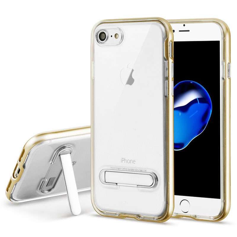 mybat-iphone7-NIPHONE7HPCSAAS824NP-Gold-Transparent-Clear-Hybrid-Protector-Cover-with-Magnetic-Metal-Stand
