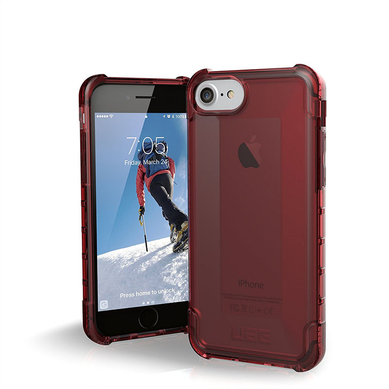 mobiletech-UAG-IPhone-8-IPhone-7-IPhone-6s-4-7-inch-Screen-Plyo-Feather-Light-Rugged-Crimson