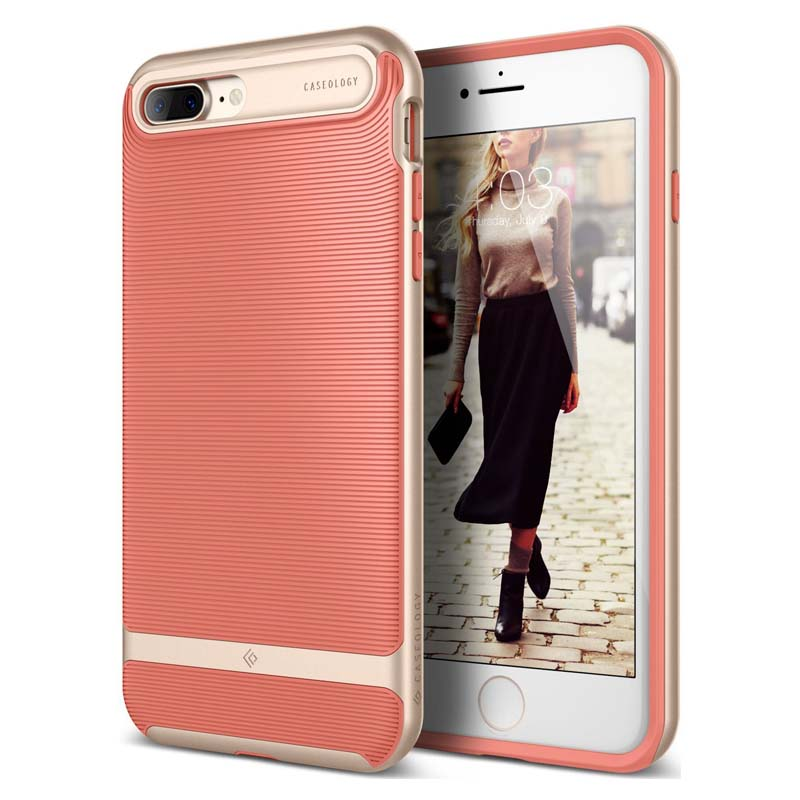 mobiletech_iphone-7-8-plus-caseology-wavelength-Coral-Pink