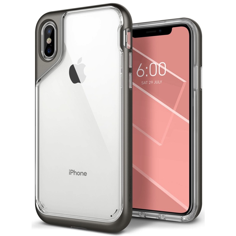 premium selection 46207 4d627 iPhone X Case Caseology Skyfall Case Grey