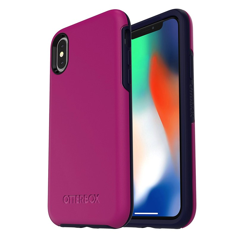 cheap for discount 31ed4 02800 iPhone X Case OtterBox Symmetry Series Case Purple