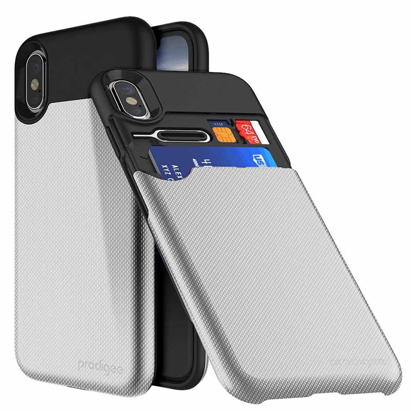 mobiletech-iPhone-X-Prodigee-UnderCover-Silver