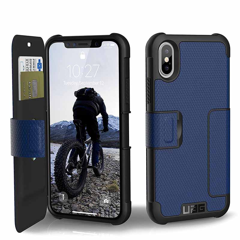 mobiletech-Urban-Armor-Gear-Metropolis-Feather-Light-Rugged-Military-Drop-Tested-Case-for-iPhone-X-Cobalt