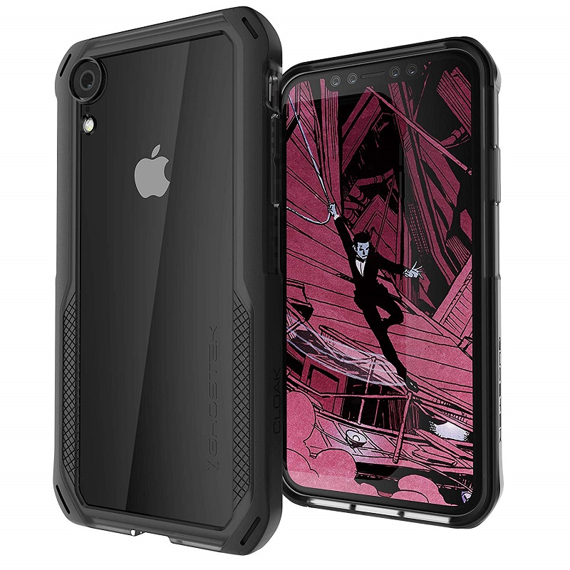 mobiletech-iPhone-XR-ghostek-cloak-4-black