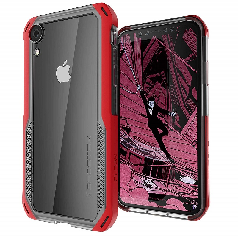 mobiletech-iPhone-XR-ghostek-cloak-4-red