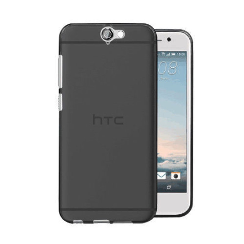 innovative design 81d6c 66546 HTC One A9 Silicon Case Black