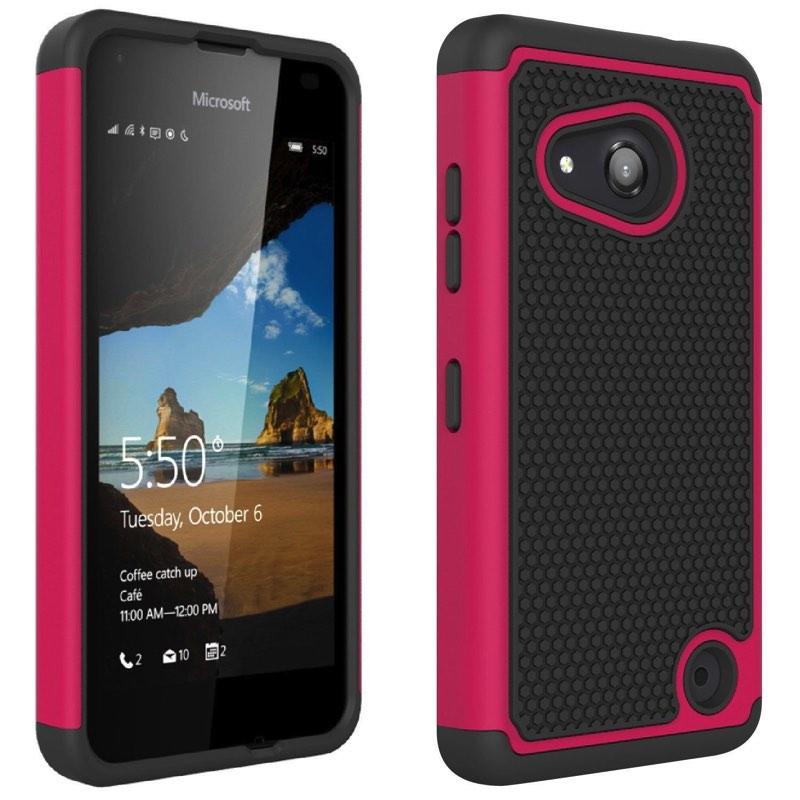 buy online 0ac09 59ecf Nokia Lumia 550 Shockproof Case Pink