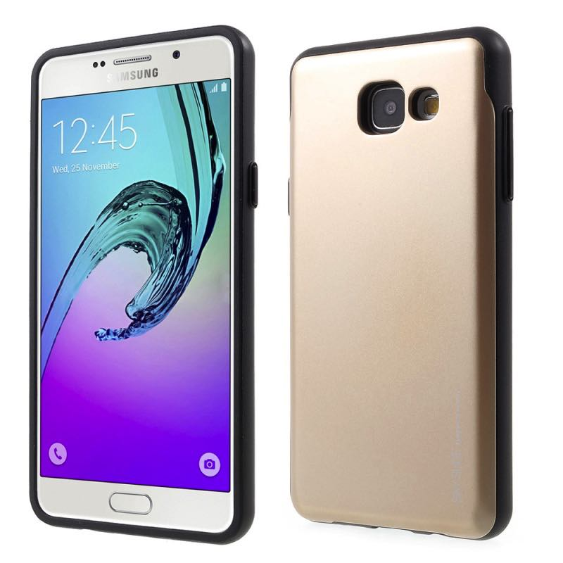 Samsung Galaxy A5 2017 Sky Slide Bumper Case Gold