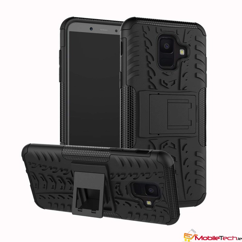 quality design d4f22 c5419 Samsung Galaxy A6(2018) Tyre Defender Cover Black