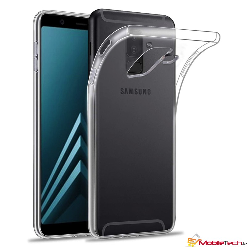 newest eb9c1 f436e Samsung Galaxy A6-2018 TPU Silicon Back Phone Cover| Clear